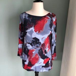 Jones New York Collection silky knit tunic XL